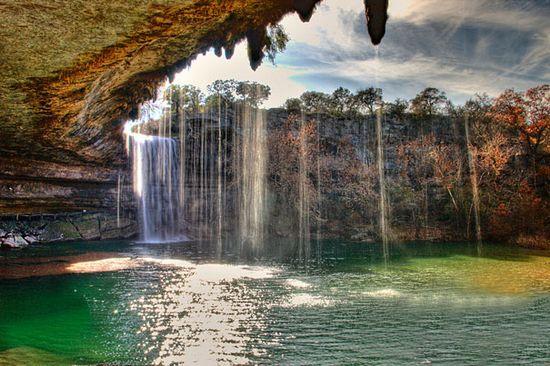Hamilton Pool Preserve, Texas.