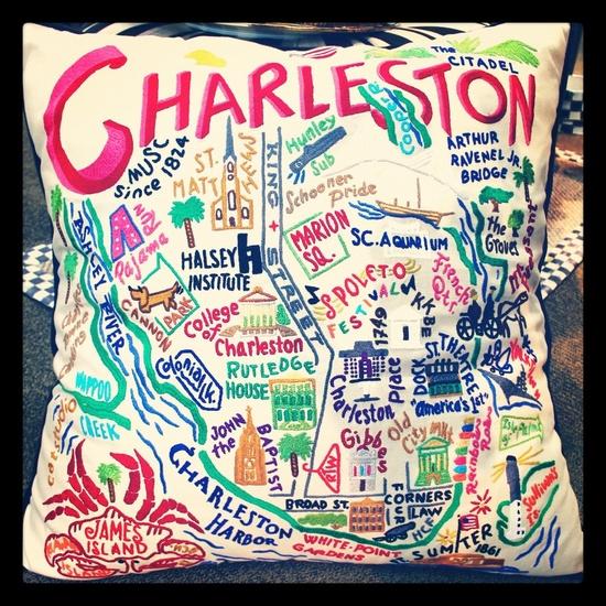 charleston pillow: NEED