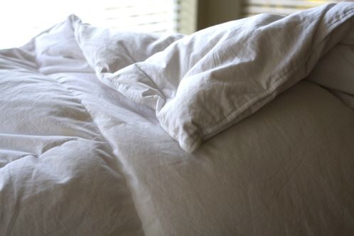 Spring Cleaning Your Bedding: WASHING DOWN COMFORTERS