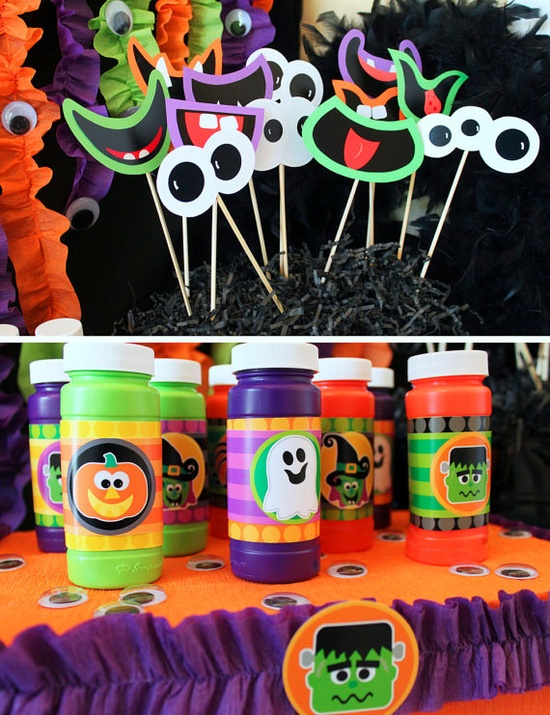 halloween party printables.
