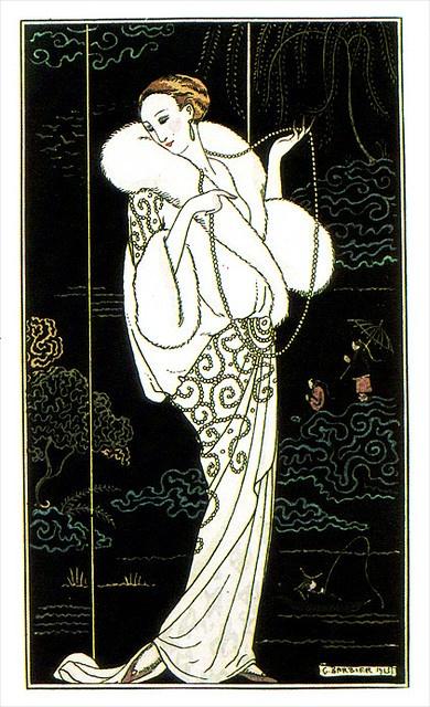 George Barbier, Illustration from Journal Des Dames Et Des Modes 1913