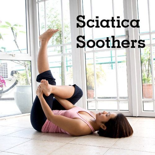 Yoga For Sciatica! This is a simple routine that shoulde be a staple to control current issues & prevent issues with those who actively stand all day! I get asked for programs like this by nurses to athletes!