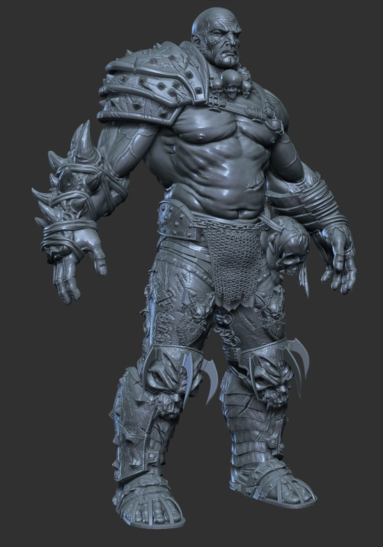 Chandaal, 3D Zbrush