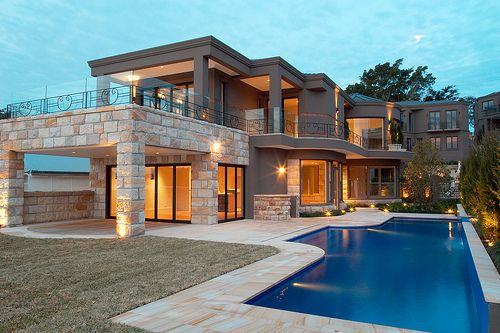 #architecture #exterior #home #house #mansion #pool
