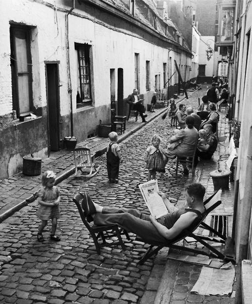 vie dans la rue