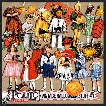 Vintage Halloween Stuff
