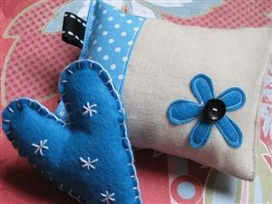 Blue Valentine Handmade Crafts