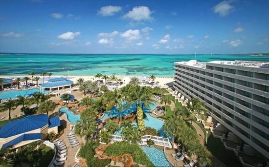 Sheraton Nassau Beach Resort in the Bahamas