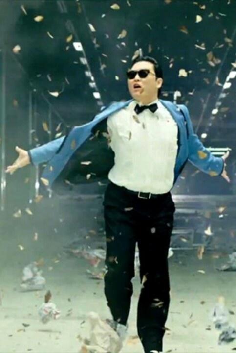 Gangnam  style..