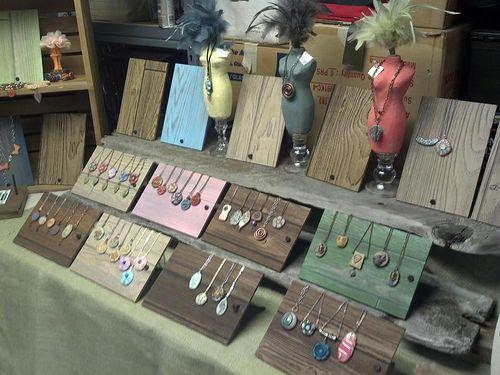 Craft show display.