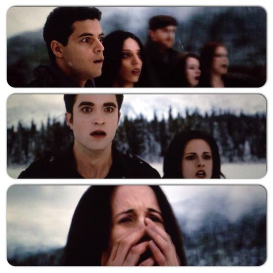 """That moment the whole theater gasped and screamed, """"THAT DIDN'T HAPPEN IN THE BOOK!"""""""