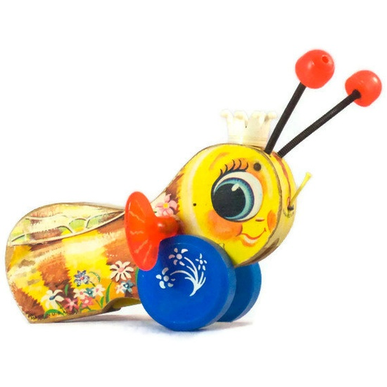 Vintage Fisher Price Queen Buzzy Bee  Toy by ladylindysvintage on Etsy
