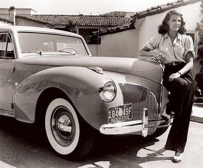 Rita Hayworth -- 1941 Lincoln Continental