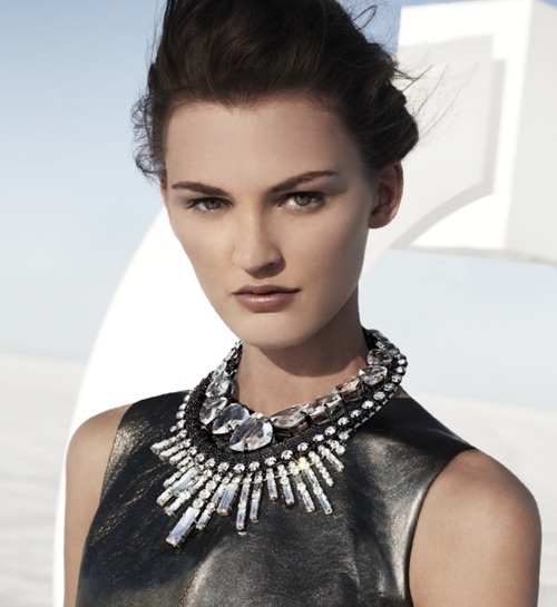 statement necklaces ! #uniklook