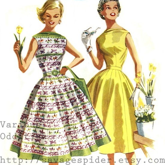 I LOVE THIS DRESS! 1950'S