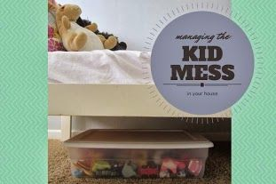 how to organize kids toys