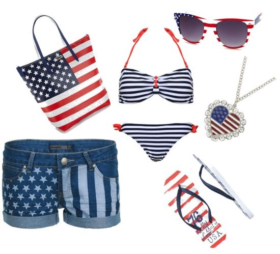 Stars and Stripes Perfect Look for 4Th of July!