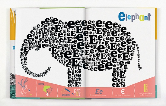 E is for Elephant by wernerdesignwerks, via Flickr