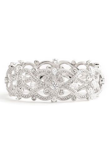 Nadri 'Celtic Knot' Crystal Bangle available at Nordstrom