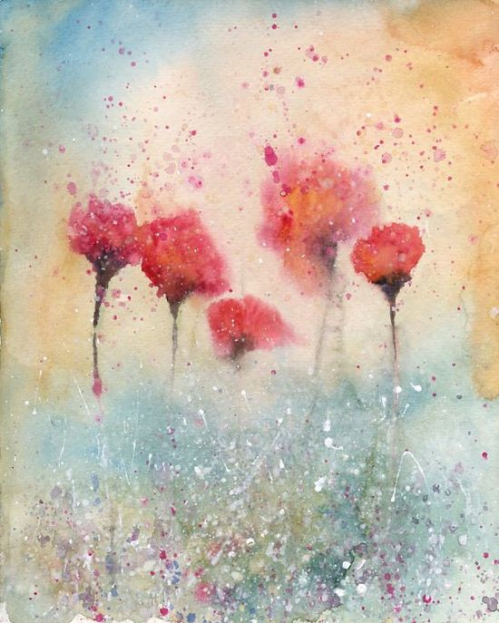 Watercolor by Ireart