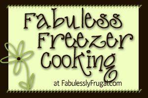 Freezer Meal Idea