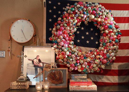 Big Ornament Wreath... LOVE LOVE LOVE