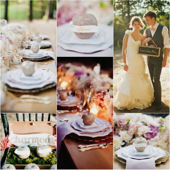 Gold Apple Wedding Ideas
