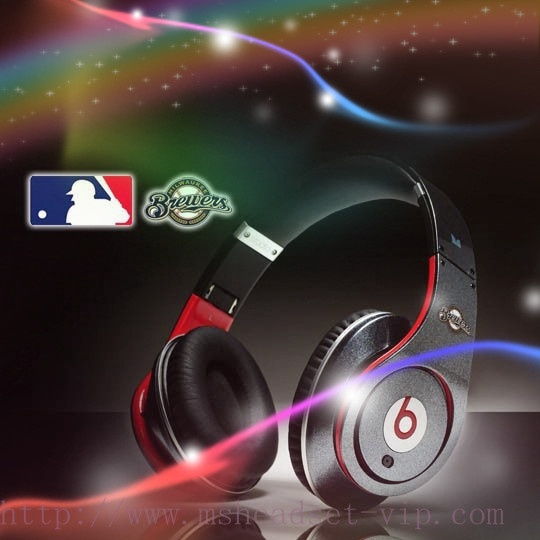 Monster beats by dre studio Milwaukee Brewers headphones