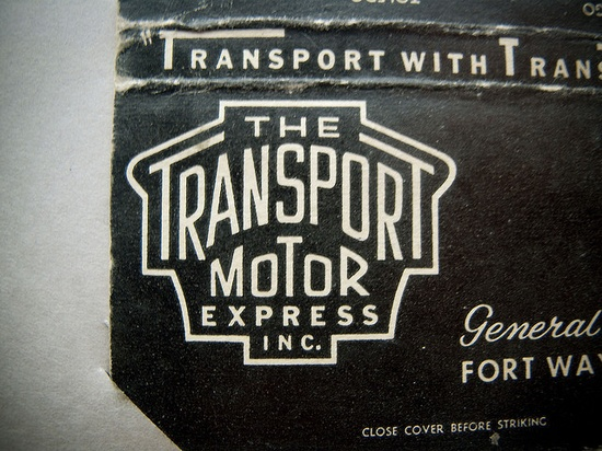 Vintage motor logo, Draplin found