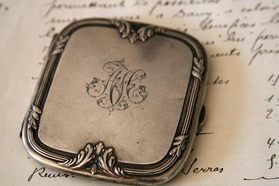 Monogram-silver-box