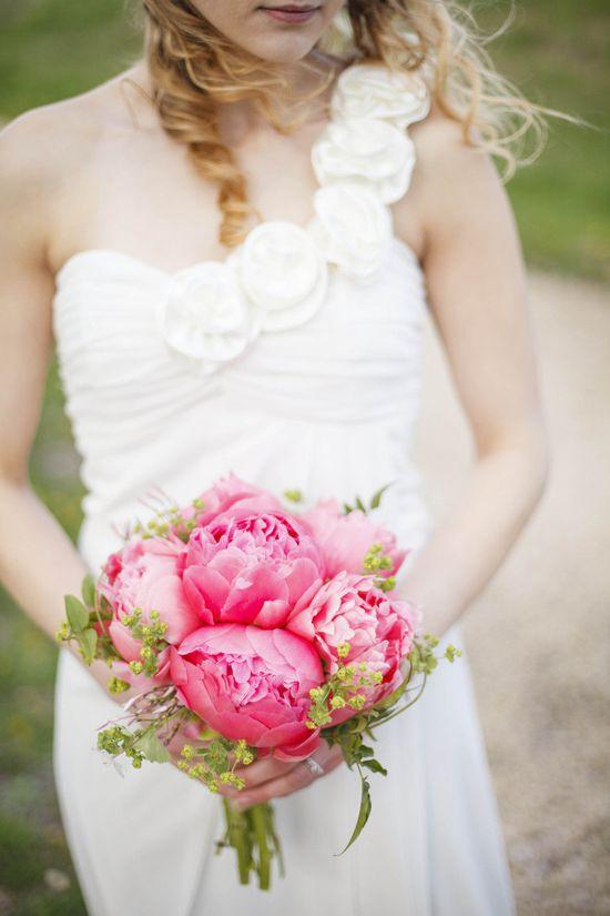 Pretty #peony #bouquet