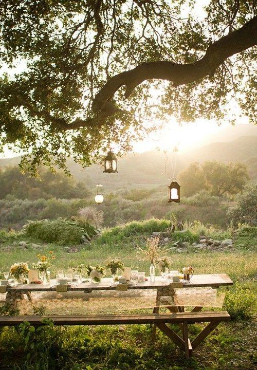 enjoy al fresco! Nature, Picknick