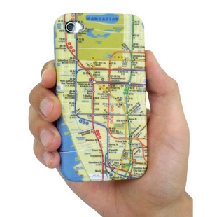 NYC Subway Map iPhone Case
