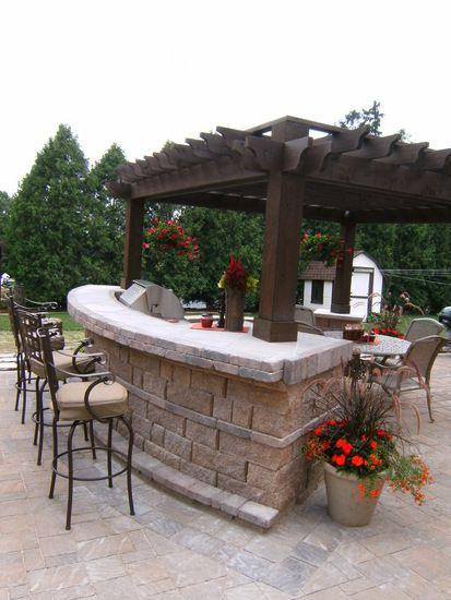 outdoor kitchen- ummm yes!