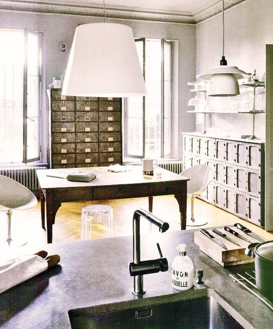 Haute Design by Sarah Klassen: Interior: An Industrial Flavour