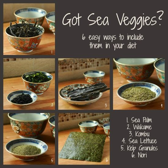 Got Sea Veggies?  6 Easy Ways to Include Them in Your Diet from @Oh Lardy Com ohlardy.com/...