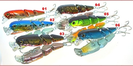 handmade fishing lures