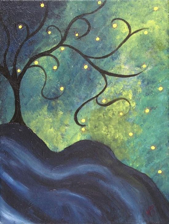 """The Still of Night"" by Holly Schlickbernd"