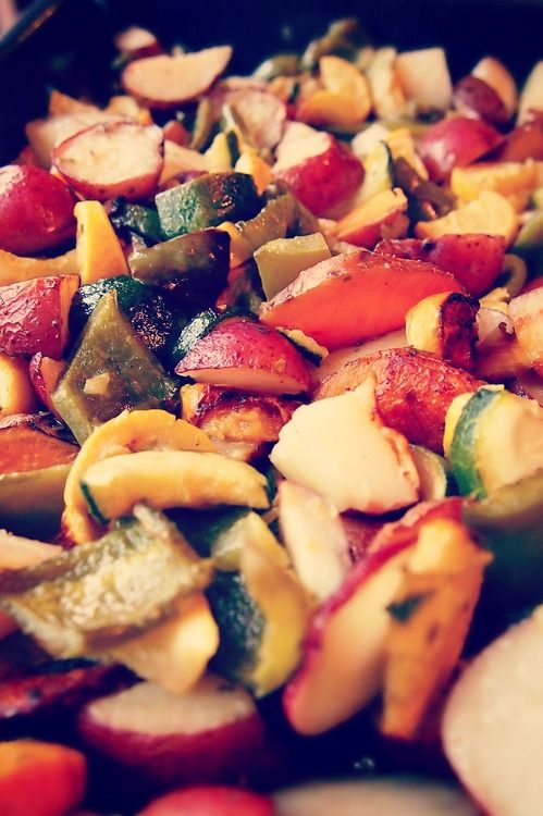 Seasoned and Roasted Veggies