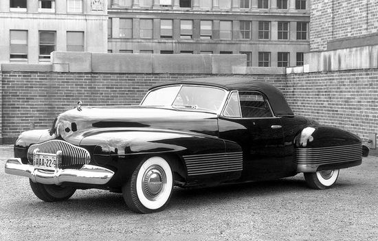 Buick Y-Job Concept Car by Harley Earl (1938)