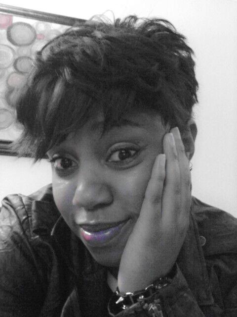 My straight hair