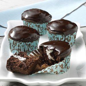 Cream-Filled Cupcakes Recipe