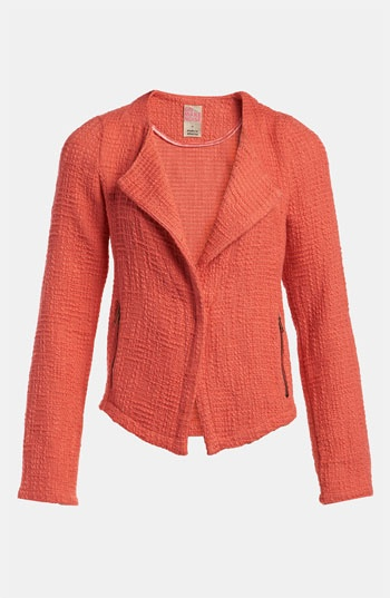 Texture + Color = A blazer with style.