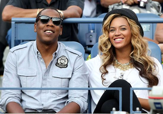 In 2011, Beyonce and Jay-Z watched players compete in the U.S. Open