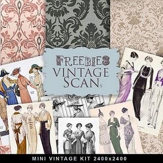 Vintage Freebie Downloads... lots of them