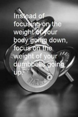 Weight lifting motto!