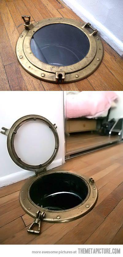 Best Laundry Chute Door Ever…
