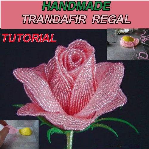 Handmade handmade rose roses royal royal Tutorial