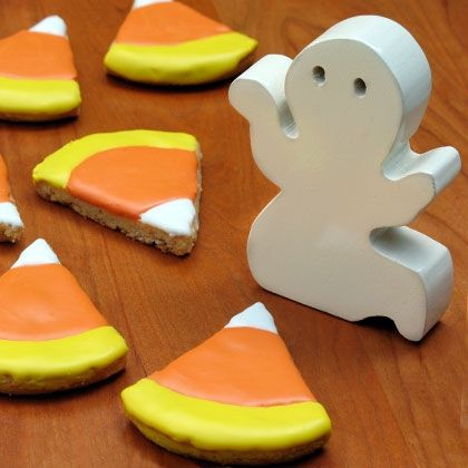 Donald's Candy Corn Cookies