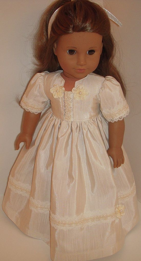 Party gown for American Girl dolls and other by dollywishes, $22.00